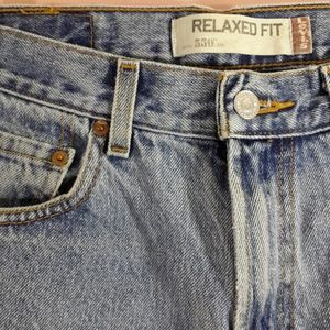 Levi's Jeans - Levi's 550 Blue Jeans 29x32 Distressed Relaxed Fit